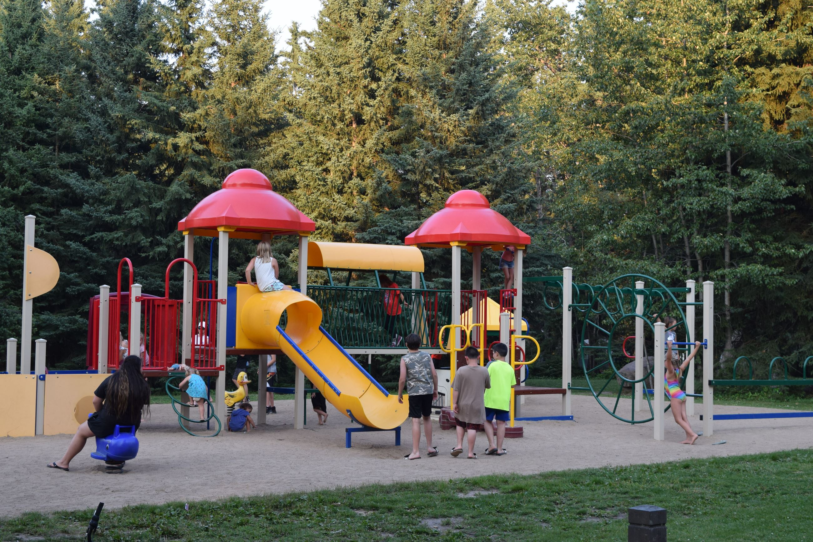 Cold Lake M.D. Park Playground